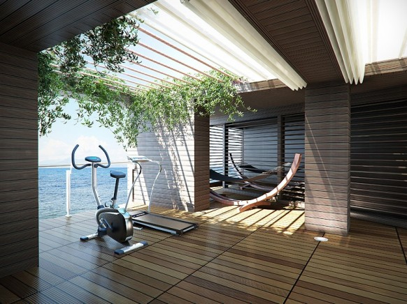 Cozy Home Gym Designs