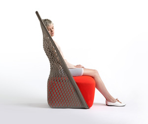 Cradle chair by Benjamin Hubert for Moroso