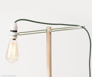 Crane lamp by Hyun Young Park