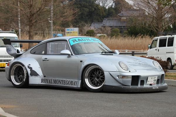 Crazy Wide Body Rwb Porsche 911 Royal Montegobay