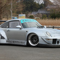 Crazy Wide Body RWB Porsche 911 Royal Montegobay