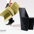 Crease chair by Surya Graf