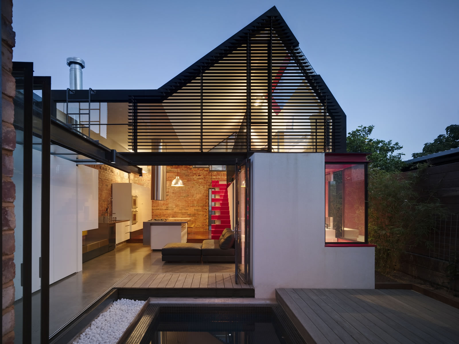 creative architecture for victorian terrace