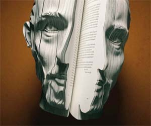 Creative Ideas – Face in the Book Printing