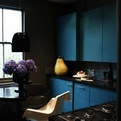 Creative Kitchens With Dark Walls