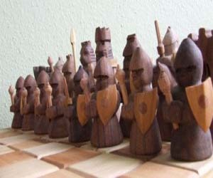 Creative Making Accessories With Wooden Knight/Horse