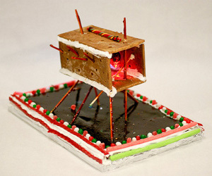 Creative Room Gingerbread Architecture