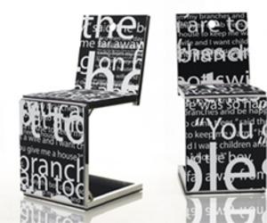 Creative Wall Art Chair Design