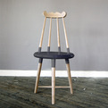 Crested Comb-Back Chair by Timothy Liles