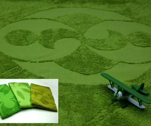Crop Circle Towel by Anatoliy Omelchenko
