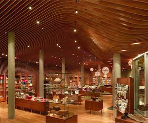 Crystal Bridges Museum Store Ceiling Soars