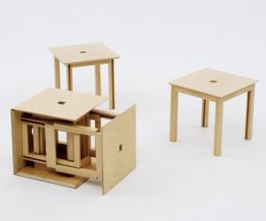 Cube 6: Stools in A Box
