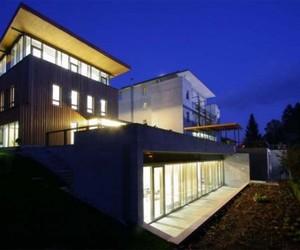 Cube Architecture Building of Villa Mon Repos