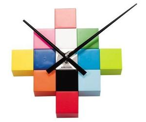 Cubic Multicolor Wall Clock