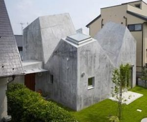 Cubist Concrete House