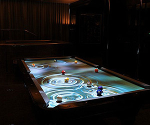 CueLight Pool Table