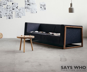 Curb sofa by SAYS WHO