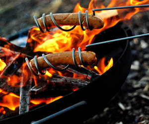 Curly Hot Dog Roasting Sticks