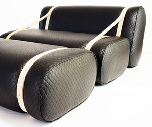 Cuscino Lounge Chair by Alexander Purcell