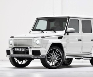 Custom 2013 Mercedes-Benz G350 CDI by Brabus