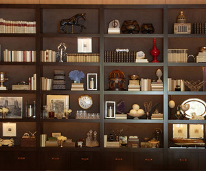 Custom Book Library at the W Residences in Hollywood