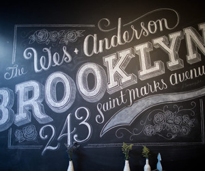 Custom Chalk Lettering by Dana Tanamachi
