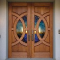 Custom Cherry Door from Simpson Door