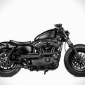 Custom Harley-Davidson by Shaw Speed