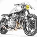 Custom Honda CB750 by Steel Bent