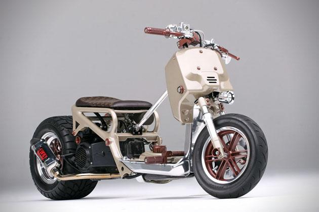 Custom Honda Ruckus Scooter