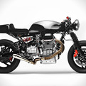 Custom Moto Guzzi Bike by Alain Bernard