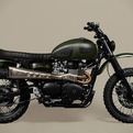Custom Scrambler Amazonia | Ton-Up Garage