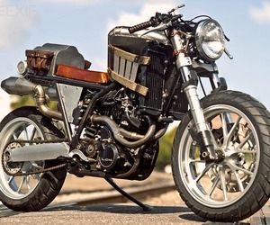 Custom Steampunk Bike by Mace Livingston