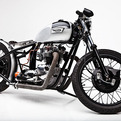 Custom Triumph 750 TR7/Tiger by Helrich