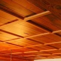 Custom Wood Ceiling from Fifth Wall Designs