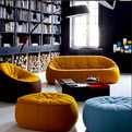 Cute Ottoman Armchair by Ligne Roset
