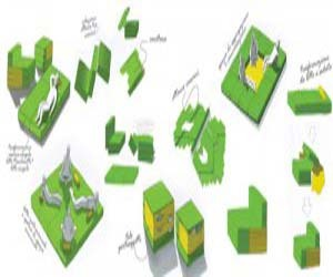 Cute Versatile Modular Furniture Design for Limited Spaces