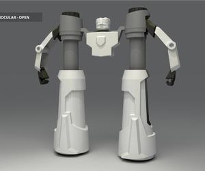 Cyberbots Binoculars by Juan Pablo Lasa's