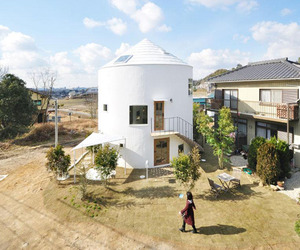 Cylindrical House in Chiharada | Studio Velocity