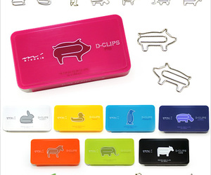 D-CLIPS : Animal Shaped Small Paper Clips