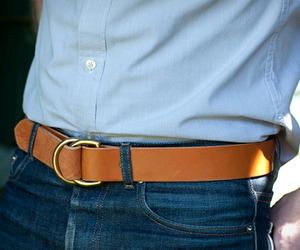 D-Ring Belt | by Wood & Faulk