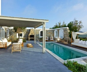 Dafni Villa Offers Tranquil Escape on Mykonos