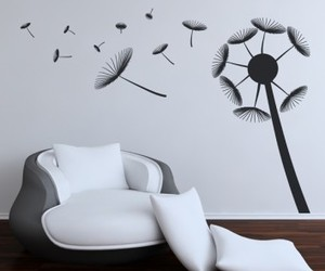 Dandelion Blowing Wall Stickers