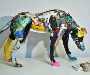 Dario Tironi's Artistic Vision from Discarded Objects