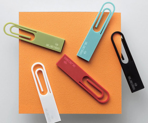 DATA clip – USB paperclip for Elecom