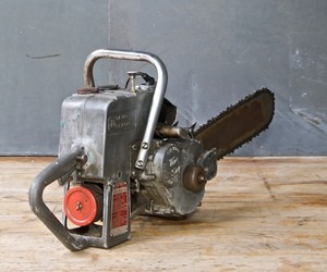 David Bradley Vintage Post War Industrial Chainsaw c.1950s