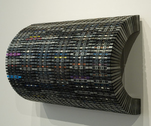 David Poppie Transforms Discarded Materials into Artwork