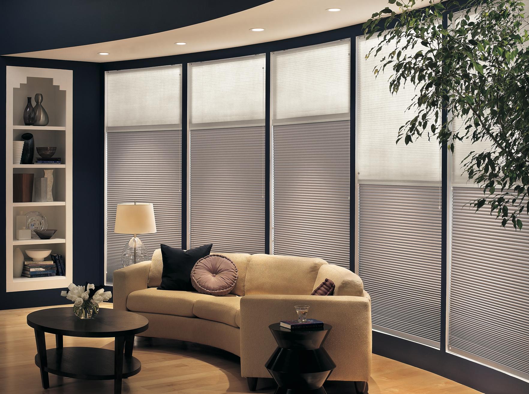 Bamboo bathroom flooring - Day Amp Night Cellular Shades From Blindsgalore Com