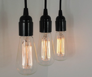 Decorative bulb pendants