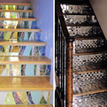 Decorative Stair Risers at Home